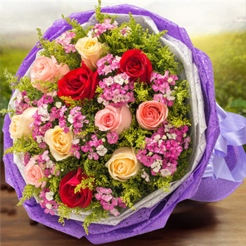 Zhongshan flowers delivery Rosy love