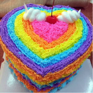 Colorful Birthday China Changsha Cake Delivery